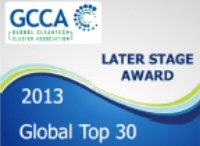 Global Cleantech Cluster Association - 2013 Later Stage Award