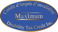 Maximum Disability Tax Credit Inc.