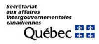 Secretariat aux affaires intergouvernementales canadiennes - Quebec