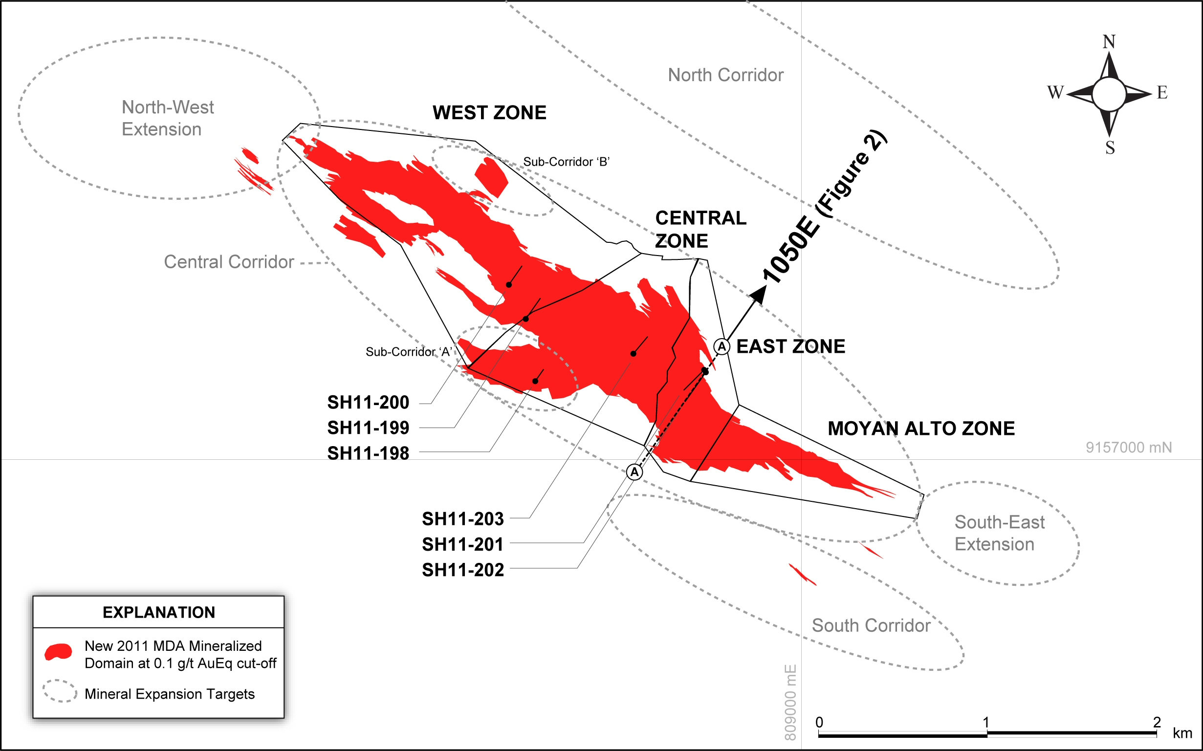 Sulliden Announces Further Positive Drilling Results-Intersects 1 42