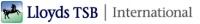 Lloyds TSB International