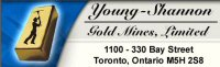 YOUNG-SHANNON GOLD MINES, LIMITED
