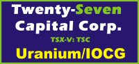 Twenty-Seven Capital Corp.