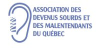 Association des devenus sourds et des malentendants du Qc
