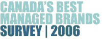 Canada's Best Managed Brands Survey 2006