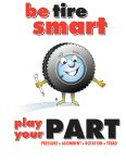 Be Tire Smart - Play your P.A.R.T.