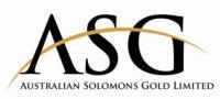 Australian Solomons Gold Limited