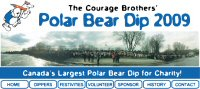 Courage Brothers' Polar Bear Dip for World Vision
