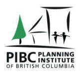 The Planning Institute of British Columbia