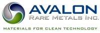 Avalon Rare Metals Inc.