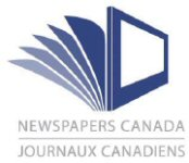 Journaux canadiens