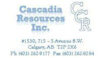 CASCADIA RESOURCES INC.