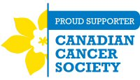 Proud Supporter - Canadian Cancer Society