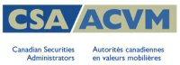 Autorités canadiennes en valeurs mobilières